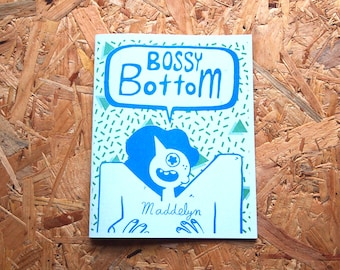 Bossy Bottom - a queer comic by Maddelyn