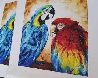 """LIMITED EDITION """"Family"""" PRINT on canvas -Only 250pcs!"""