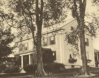 The Rocks SCHOHARIE New York - unused vintage postcard - Stately home or Inn