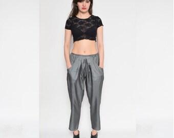 Vintage 80's Harem Silver Pants