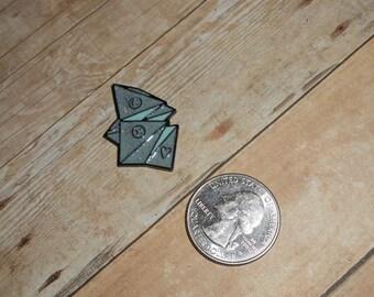 Cootie Catcher Needleminder // Fortune Teller Needle Minder /// Kid's Paper Game Needle Nanny // Childhood Origami Needle Keeper
