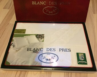 Set of sheets des PRÉS white box