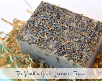 Lavender Topped Soap Bar