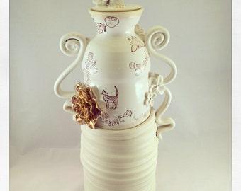 Large Crazy Cat Lady Jar