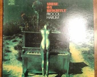 Procol Harum - Shine on Brightly SP-4151 Vinyl Record LP 1968