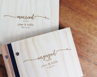 Wedding Book Gift Pack, Engagement Album, Wedding Guest Book, Engagment Gift