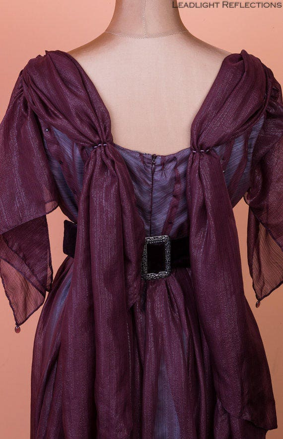 Gown SALE evening Abbey dress Edwardian Marcala inspired 1910's Downton gown pf8Pzq