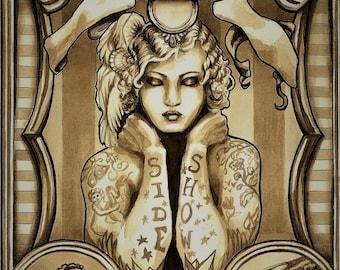 Tattoo Salve 4 oz.  Tattoo Balm, Arnica Salve, Comfrey Salve, Healing Salve, Herbal Salve, Wound Salve, Natural Salve, Tattoo Care  SALE