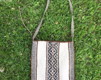 Vintage Peruvian Messenger Bag