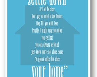 Home / Phllip Phillips / Lyric / DIGITAL Typography Poster / Printable