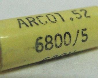 Capacitor 6.8nF 5% 630V, polyester