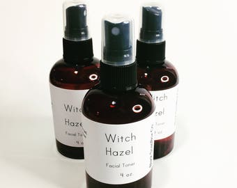 Witch Hazel facial toner