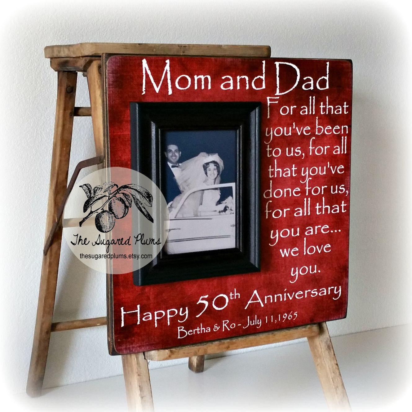 50. Jahrestagsgeschenke Eltern Jahrestagsgeschenk für alle