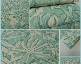 Lee Jofa-GWF-Linyanti-Outdoor Fabric-pc 25 inch x36 inch-Remnant- Aqua- Solarium