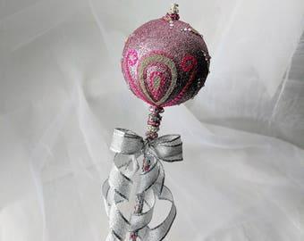 Pink on Pink Fairy Princess Ball Wand