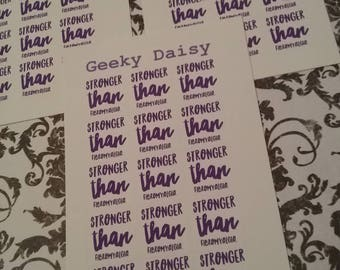 Stronger planner stickers