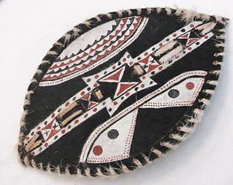 Maasai warrior shield