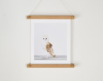 Wood Poster Hanger - Print Hanger - Wood Photo Hanger - Wood Art Hanger