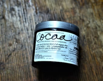 The Butters Lube: Cocoa Butter (soy & palm free) - vegan and organic