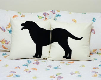 Labrador retriever pillow covers, dog pillow,  dog lovers, labrador pillow, pillow pets, cojín del sofá, labrador cushion, pillow set