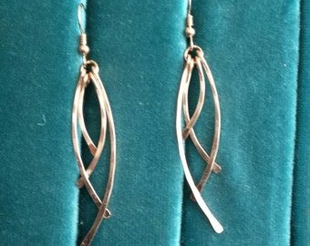 Gold Filled Dangle earrings