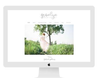 Wix Website design, website template, photography website, wedding planner website, wedding photography website, template 4839
