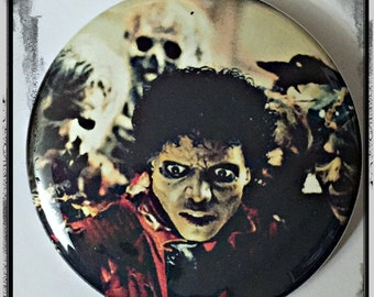 "This Is Thriller - Large 2.25"" Pin Back Button"