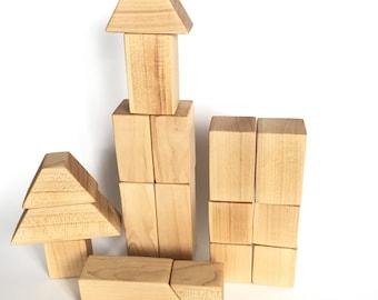 Maple Wood Block Set