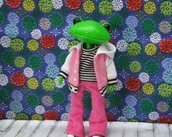 Wonder Frog  Jacket, Pants and T-shirt