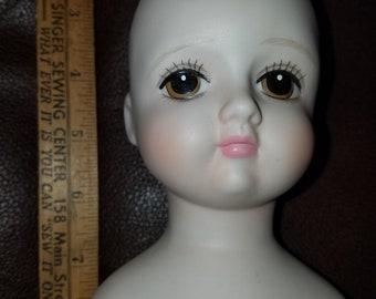 Lee Wards Bisque Doll Head