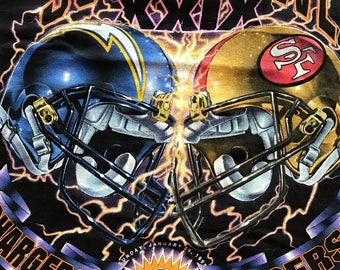 SUPER BOWL 1995  San Francisco vs San Diego