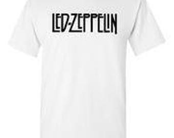 Led Zeppelin White T-Shirt