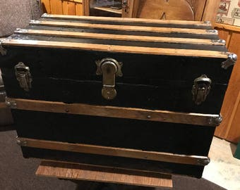 Restored Steamer Trunk