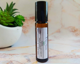 Vigilant Rollerball Cold and Flu Natural Remedy/ Immune Boost Aromatherapy Oil / Essential Oil