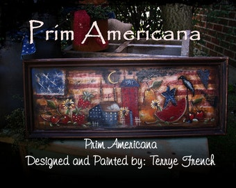 Prim Americana,  Terrye French, pattern packet email