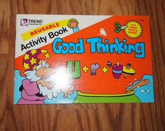Vintage Trend Reuseable Activity Book