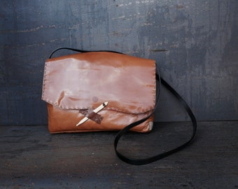 Goat leather everyday bag (Aracar)