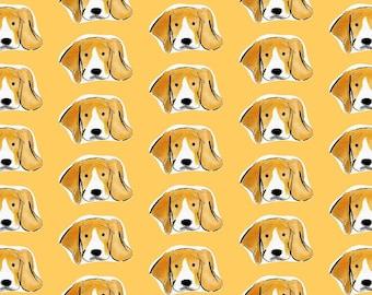 Beagle Face Print