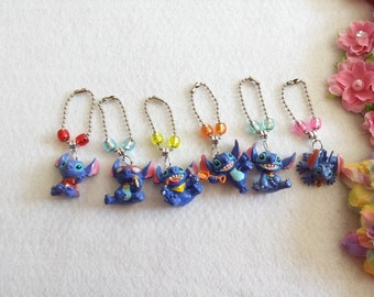 10 Lilo and Stitch Figure Zipper Pulls Party favors