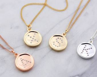 Sister Necklace Set | Letter Necklace | Family Necklace | 3 Best Friends | Sister Necklaces | Friendship Jewelry | Daily Devotional | Love