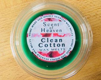 Wax Melt Cup - Clean Cotton Fragranced