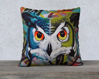 OWL VII / pillow case