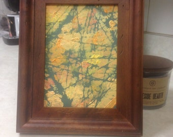 Colorful Abstract Picture with Frame