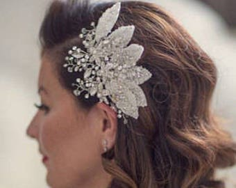 pearl bridal hair comb, wedding hair comb, decorative hair comb, wedding hair accessories, bridal accessories bridal hair piece, hair piece