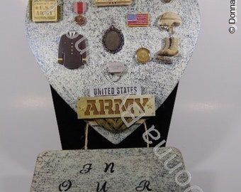 Army Honor Plaque