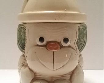 Vintage Monkey Cookie Jar