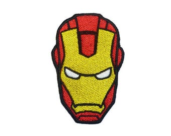 """Embroidered PATCH """"Iron Man"""""""