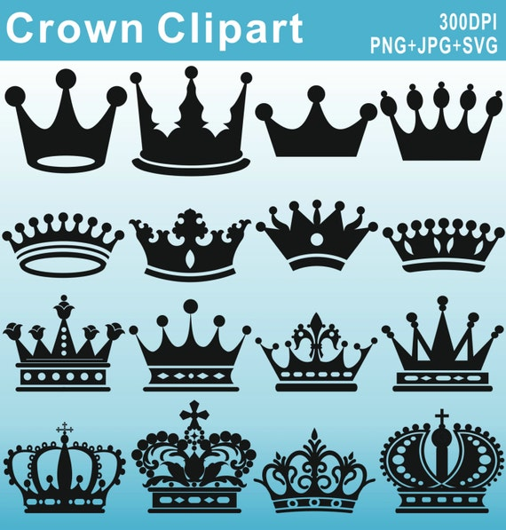 Crown Silhouettes Clipart Royal Crown Clipart Crown
