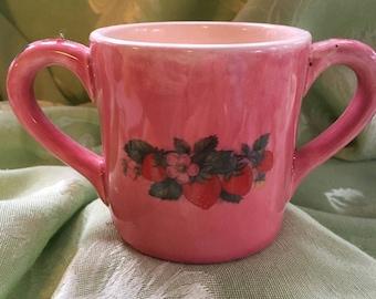 Baby two handle mug