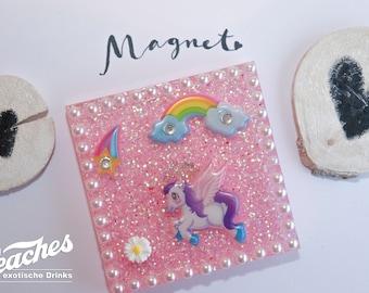 Magnets, fridge magnets, fairy tale, horse resin magnet